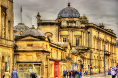 Buildings in the historic centre of Bath Royalty Free Stock Photos