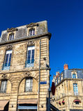 Buildings in the historic centre of Bordeaux, France Stock Photo
