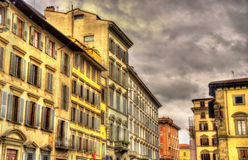 Buildings in the historic centre of Florence Royalty Free Stock Photography