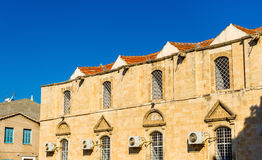 Buildings in the historic centre of Larnaca Stock Image