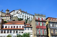 Buildings in the historic city of Porto Royalty Free Stock Images