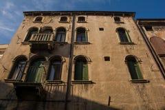 Buildings in Vittorio Veneto Royalty Free Stock Photo