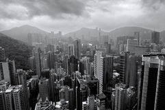 Buildings Of HK royalty free stock photography