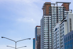 Buildings. Hotel, condominium and office buildings Royalty Free Stock Image
