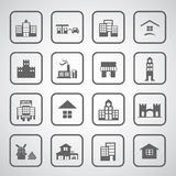 Buildings icon Royalty Free Stock Photo