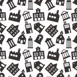 Buildings icon Seamless Pattern  Background, JPG JPEG,EPS Logo design yes Download Face book Social media. EPS Stock Images