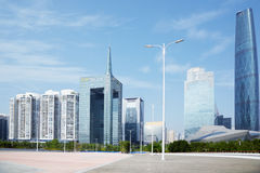 Buildings of IFC, IFP, GRC and Opera Hous Stock Image