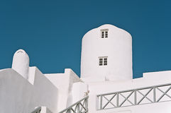 Buildings at Imerovigli, Santorini, Greece Stock Image