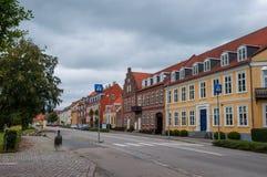 Free Buildings In Danish Town Of Soroe Stock Photos - 101315733