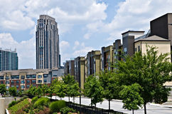 Buildings In Downtown Area Royalty Free Stock Image