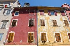 Buildings In Rovinj Royalty Free Stock Photo