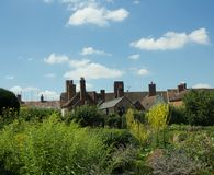 Free Buildings In The Garden Royalty Free Stock Photo - 122770215