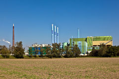 Buildings of an Industry Park Stock Image