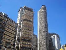 Buildings at Ipiranga Avenue Royalty Free Stock Images