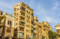 Buildings in the Islamic district of Cairo Royalty Free Stock Image