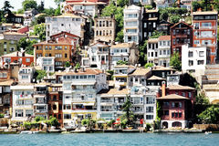 Buildings in Istanbul Stock Images