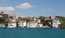 Buildings Istanbul City, Turkey Royalty Free Stock Images