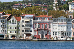 Buildings in Istanbul City, Turkey Royalty Free Stock Photos
