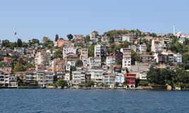Buildings in Istanbul City, Turkey Royalty Free Stock Image
