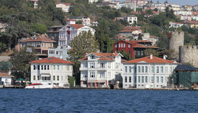 Buildings in Istanbul City, Turkey Royalty Free Stock Photo