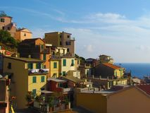 Riomaggiore, Cinque Terre, Italy Stock Images