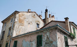 Buildings in Izola, Slovenia Royalty Free Stock Image