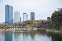 Buildings in Japan Royalty Free Stock Photography