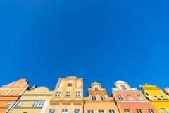 Buildings at Jelenia Gora Royalty Free Stock Photos