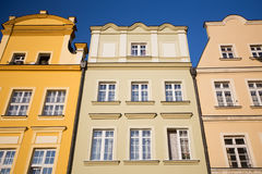 Buildings in Jelenia Gora Royalty Free Stock Image