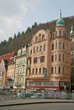 Buildings in Karlovy Vary, Czech Republic Royalty Free Stock Images