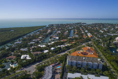Buildings in Key Biscayne Florida Royalty Free Stock Images