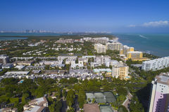 Buildings in Key Biscayne Florida Royalty Free Stock Photo