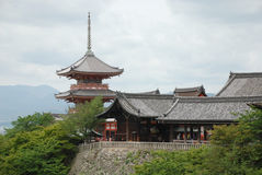 Buildings at Kiyomizudera Temple, Kyoto Royalty Free Stock Photos