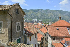 Buildings in Kotor Royalty Free Stock Photos