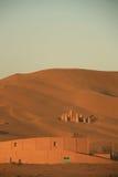 Buildings in Kumutage Desert. Xinjiang, China Stock Photo