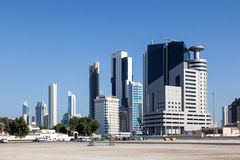 Buildings in Kuwait City Stock Photos