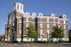 Buildings in l Southern Methodist university campus Stock Photos