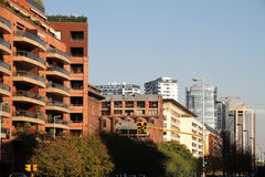 Buildings in La Reserva, Buenos Aires Royalty Free Stock Photo