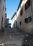 Buildings in Labin Royalty Free Stock Images