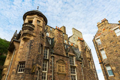Buildings at Lady Stairs Close in Edinburgh Stock Image