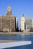 Buildings by Lake Shore Drive in Chicago Stock Photos