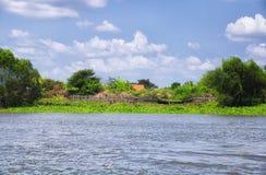 Mekong River Vietnam Southeast Asia Stock Images