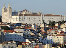 Buildings in Lisbon, Portugal Royalty Free Stock Image