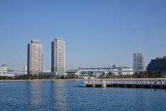 Buildings located in Odaiba, Tokyo, Japan Stock Photo