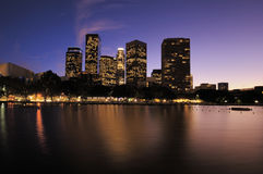 Buildings Los Angeles CA Stock Image