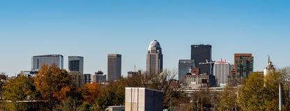 Louisville City Skyline stock photography