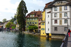Buildings in Lucerne Stock Photos