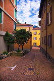 Buildings in Lugano Stock Image