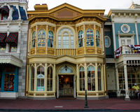 Buildings in the Magic Kingdom, Walt Disney World, Orlando, Florida. Stock Images