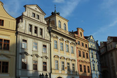 Buildings on the Main Square Old Town, Prague. Stock Image
